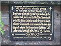 Photo of Black plaque № 7589