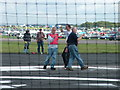 SK9741 : Control line team race pilots, Barkston Heath by John Goldsmith