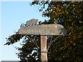 TL5562 : Swaffham Bulbeck Village Sign by Keith Edkins