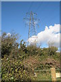 SU6406 : Pylon atop Portsdown Hill by Basher Eyre