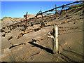 NK0023 : Newburgh: war time beach defences on Foveran Links : Week 42