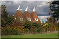 TQ7247 : Oast House at Whitehurst, Dairy Lane, Chainhurst, Kent by Oast House Archive