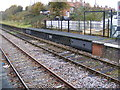 TM3877 : Movable Platforms at Halesworth Railway Station by Adrian Cable