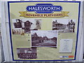 TM3877 : Halesworth Railway Station Poster by Adrian Cable