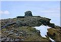 NH2071 : The summit of Sgùrr Mòr by Nigel Brown