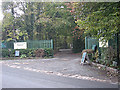 SJ8701 : Entrance to Keepers Lane Nursery by Row17
