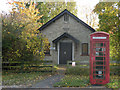 TL3464 : Boxworth village hall and phone box by Keith Edkins