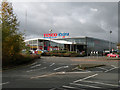 TL3763 : Tesco extra, Bar Hill by Keith Edkins