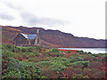 NM6525 : Church House and Loch Uisg by Richard Dorrell