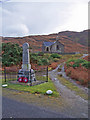 NM6525 : War memorial, Kinlochspelve by Richard Dorrell