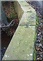 SE2406 : The parapet of Gunthwaite Bridge by Steve  Fareham