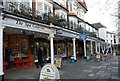 TQ5838 : Shops on The Pantiles. by Nigel Chadwick