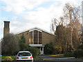 TQ2466 : Emmanuel church, Morden - West end by Stephen Craven