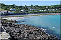 SW7818 : Coverack beach at high tide by Tim Westcott