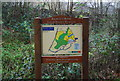 TQ5942 : Information board, Barnett's Wood Local Nature reserve. by N Chadwick