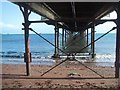 SX8960 : Under Paignton Pier by Sarah Charlesworth