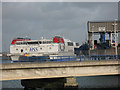 SH2482 : Stena Line ferry at Holyhead by Stephen Craven