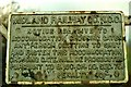 D0510 : Midland Railway sign near Glarryford by Albert Bridge