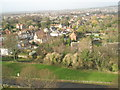SU6204 : View over to Castle Street from the top of Portchester Castle by Basher Eyre