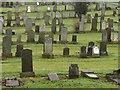 NS5769 : Maryhill Cemetery, Glasgow : Week 51