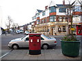 SZ1391 : Southbourne: postbox № BH6 132, Southbourne Grove by Chris Downer