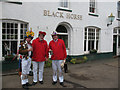 TQ6062 : Morris Men outside the Black Horse by Stephen Craven