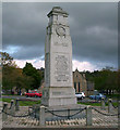 NZ1635 : War Memorial, Crook Market Place by Ann Clare