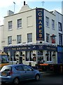TQ6474 : The Grapes Pub, Gravesend by David Anstiss