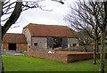 TQ3802 : Saltdean Barn by Kevin Gordon