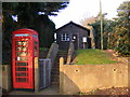TM4469 : Westleton Telephone Exchange & Telephone Box by Adrian Cable