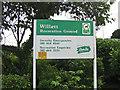 TQ4468 : Willett Recreation Ground by Ian Capper