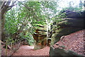 TQ5639 : The Cheesewring Rock, Rusthall Common by Nigel Chadwick