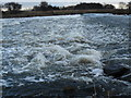 SK4631 : Sawley Weir by Andy Jamieson