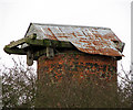 TG4321 : Stubb drainage mill - improvised roof by Evelyn Simak