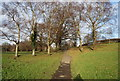 TQ5940 : Footpath across Grosvenor Recreation Ground by N Chadwick