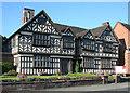 SJ6552 : Churche's Mansion, Hospital Street, Nantwich by Espresso Addict