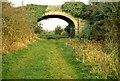 J4161 : Old railway near Saintfield by Albert Bridge