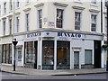 TQ2978 : Estate agents corner of Tachbrook Street / Moreton Street by PAUL FARMER