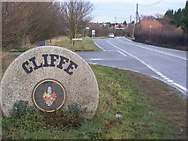 TQ7375 : Cliffe Village Sign by David Anstiss
