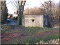 SJ2877 : WWII pillbox at Parkgate by John S Turner
