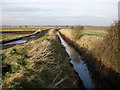 TL4773 : Fenland ditch by Hugh Venables