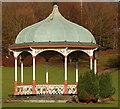 NT0987 : Bandstand in Dunfemline Public Park : Week 5