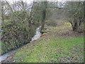 SP8412 : Bedgrove Brook by Shaun Ferguson