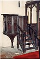 TL4150 : All Saints, Harston - Pulpit by John Salmon