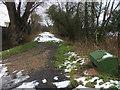 SP8109 : Bridleway to Marsh Crossing by Shaun Ferguson