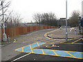 TQ4078 : Westcombe Park station car park by Stephen Craven