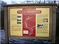 SD9806 : Information board on The Delph Donkey by Alexander P Kapp