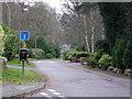 SU8461 : Thibet Road, Sandhurst by don cload