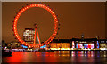 TQ3079 : London Eye at night : Week 7