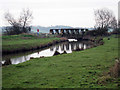 TQ8630 : Railway Bridge over Newmill Channel by Oast House Archive